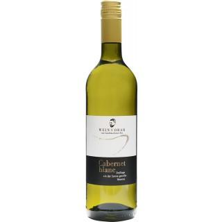 2018 Cabernet blanc trocken - WeinWobar vom Großräschener See