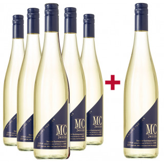 5+1 Paket MC Secco Riesling trocken - Weingut Martin Conrad