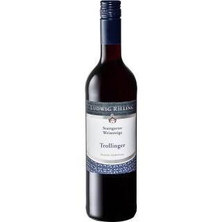 2018 Trollinger Stuttgarter Weinsteige feinherb - Rilling Sekt