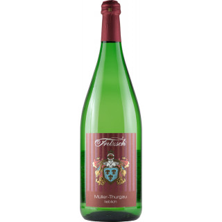 2019 Müller-Thurgau lieblich 1,0 L - Weingut Fritzsch & Sohn