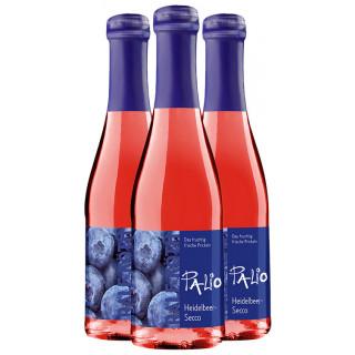 3x Palio Heidelbeer-Secco 0,2 L - Wein & Secco Köth