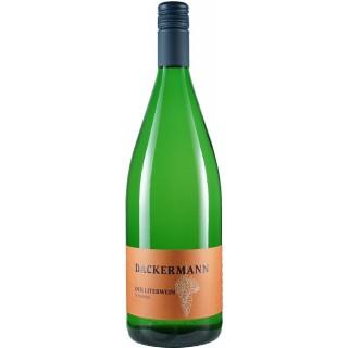 2020 DER LITERWEIN Scheurebe trocken 1,0 L - Weingut Dackermann