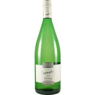 2019 Riesling halbtrocken 1,0 L - Wein- und Sektgut Rosenhof