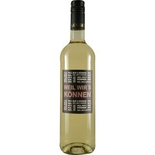 2020 WEIL WIR'S KÖNNEN Cuvée weiß halbtrocken - Weingut Theo Loosen