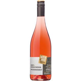 2019 Spätburgunder Weißherbst - Wein & Hof Hügelheim