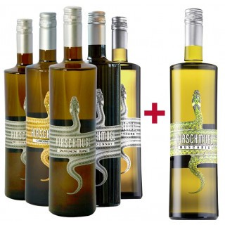 5+1 trockene Weißweine Entdeckerpaket BIO - Hirschmugl - Domaene am Seggauberg