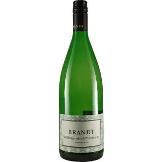 2019 Weissburgunder-Chardonnay trocken 1L - Weingut Brandt