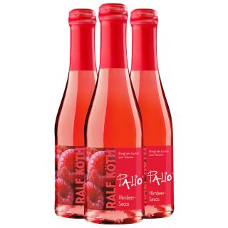 3x Palio Himbeer-Secco 0,2 L - Wein & Secco Köth
