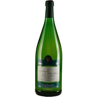 2018 Morio-Muskat & Müller-Thurgau QbA lieblich 1000 ml - Weingut Thomas-Rüb