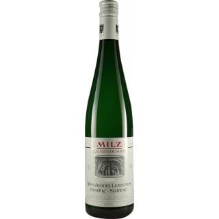 2007 Trittenheimer Leiterchen Riesling Spätlese feinfruchtig lieblich - Weingut Josef Milz