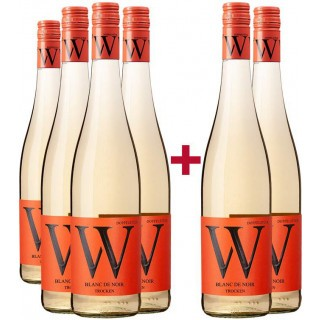 4+2 Paket 2020 Blanc de Noir  - Weingut Wasem Doppelstück