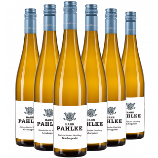 2018 Kleinkarlbacher Kieselberg Grauburgunder trocken Paket - Weingut Hahn Pahlke