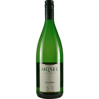 2019 Silvaner lieblich 1,0 L - Weingut Müsel