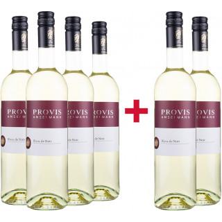 4+2 Pinot Meunier Blanc de Noir halbtrocken Paket - Weingut Provis Anselmann