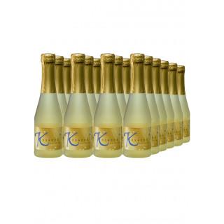 KÖ SECCO Dt. Qualitäts-Perlwein trocken 0,25L (24 Flaschen) - Winzergenossenschaft Königschaffhausen-Kiechlinsbergen