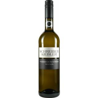 2018 Weisser Burgunder trocken - Weingut Schreiber-Kiebler