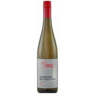 2019 Chardonnay mit Pinot blanc ** trocken - Privatkellerei Storz
