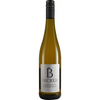 2018 Cuvée Weiß Chardonnay & Weißburgunder trocken GUTSWEIN - Weingut Becker