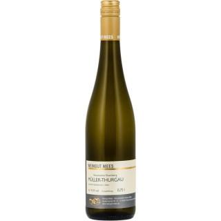 2017 Müller-Thurgau Qualitätswein QbA Weißwein lieblich süß Nahe Kreuznacher Rosenberg - Weingut Mees
