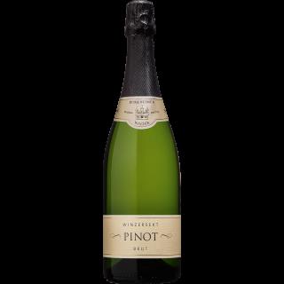 2018 Burkheimer Schlossgarten Pinot Sekt b. A. brut - Burkheimer Winzer
