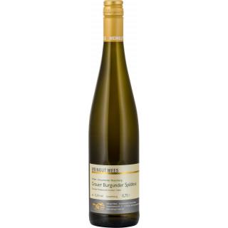 2019 Grauer Burgunder Nahe Kreuznacher Rosenberg Weißwein Lagenwein trocken - Weingut Mees
