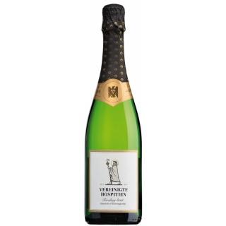 2016 Riesling-Sekt Klassische Flaschengärung brut - Weingut Vereinigte Hospitien