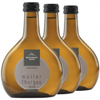 3x 2018 Müller-Thurgau trocken 0,25L - Becksteiner Winzer eG
