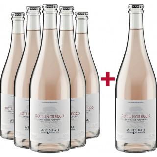 5+1 Paket 2019 Rotling Secco - Weinbau Weckbecker