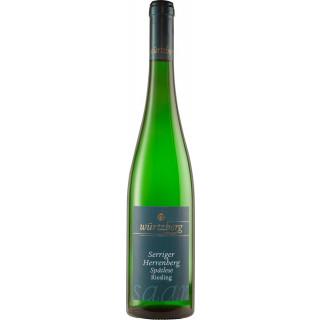 2016 Serriger Herrenberg Riesling Spätlese süß - Weingut Würtzberg