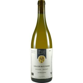 2018 Grauburgunder Spätlese trockenBIO - Ökologisches Weingut Hubert Lay