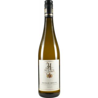 2018 Rheingau Riesling >>Winkeler Dachsberg trocken Bio - Weingut Hamm