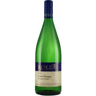 2019 Müller Thurgau Gutswein trocken 1,0 L - Weingut Roll