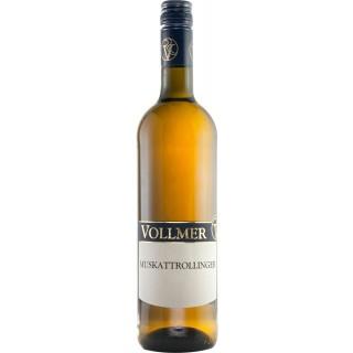 2017 Muskattrollinger halbtrocken - Weingut Roland Vollmer
