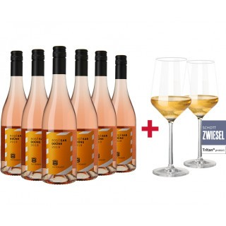 Sanddüne Rosé Paket + Gratis 2er Set Schott Zwiesel PURE Gläser