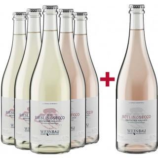 5+1 Secco Paket - Weinbau Weckbecker