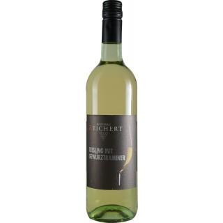 2019 Riesling mit Gewürztraminer QbA halbtrocken - Weinbau Reichert