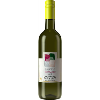 2019 Cito** halbtrocken - Weingut Heinz J. Schwab