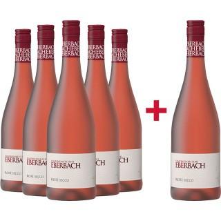 5+1 Rosé Secco Paket - Staatsweinkellerei Eberbach