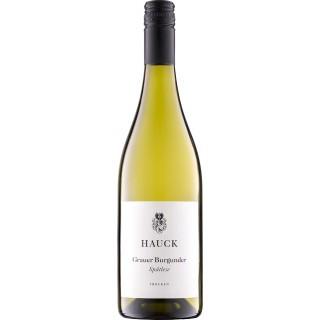 2018 Grauer Burgunder Spätlese trocken - Weingut Hauck
