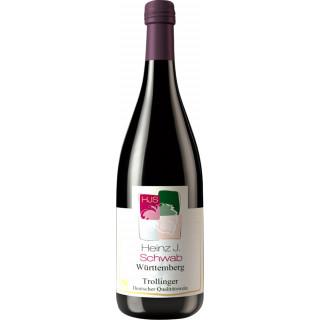 2018 Trollinger halbtrocken 1L - Weingut Heinz J. Schwab