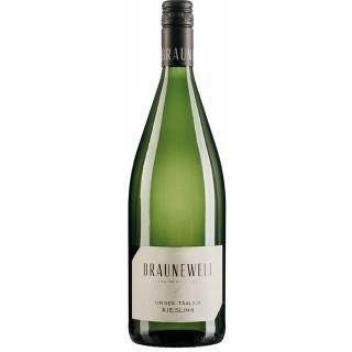 2019 Riesling trocken 1,0 L - Weingut Braunewell