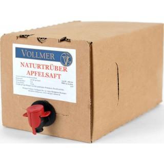 Apfelsaft naturtrüb 3L Bag-in-Box Weinschlauch 3,0 L - Weingut Roland Vollmer