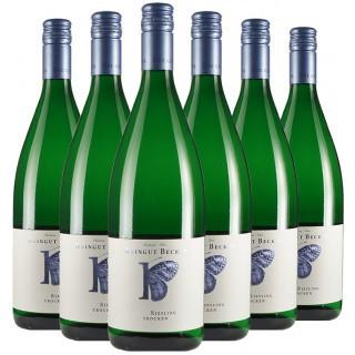 """""""Riesling 1L Bio Paket"""" - Weingut Becker-Heißbühlerhof"""