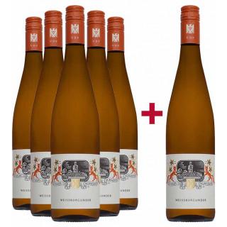 5+1 Paket Weißburgunder BIO 2019 - Weingut Karl Schaefer