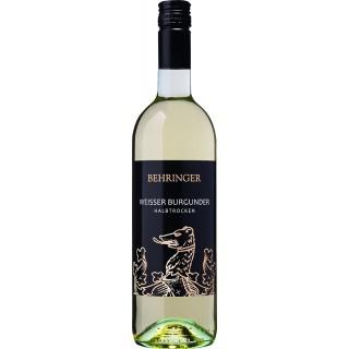 2019 Weißer Burgunder halbtrocken - Weingut Behringer