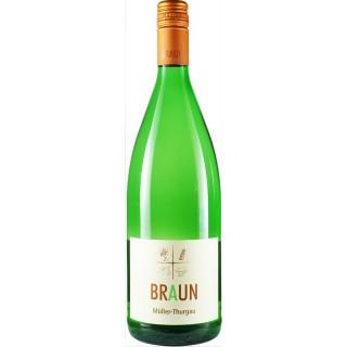 2018 Müller-Thurgau trocken 1,0 L - Weingut Armin Braun