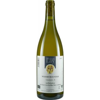 2019 Weißburgunder -S- Naturwein schwefelfrei unfiltriert trocken Bio - Ökologisches Weingut Hubert Lay