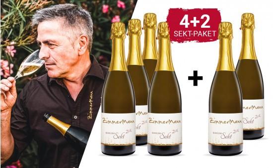 WEIN-HIGHLIGHT NR. 24 Sekt-Genuss Paket +2 Flaschen gratis
