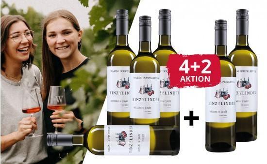 WEIN-HIGHLIGHT NR. 12 Doppelstück 2 gratis Flaschen zum Paket