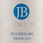 2014 Riesling Kaiserlich trocken // Weingut J. Bettenheimer